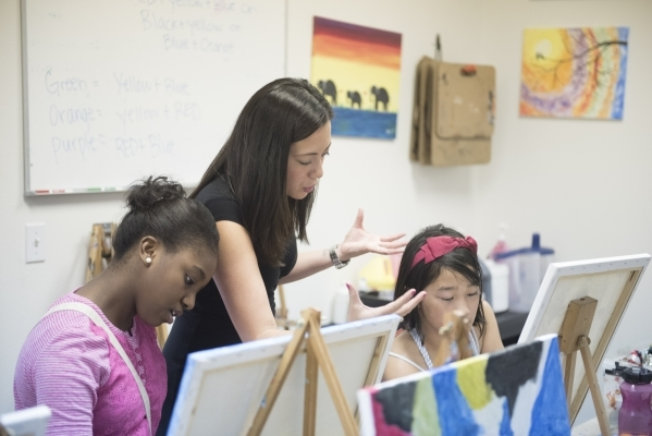 Art studio caters to students' strengths to cultivate future careers
