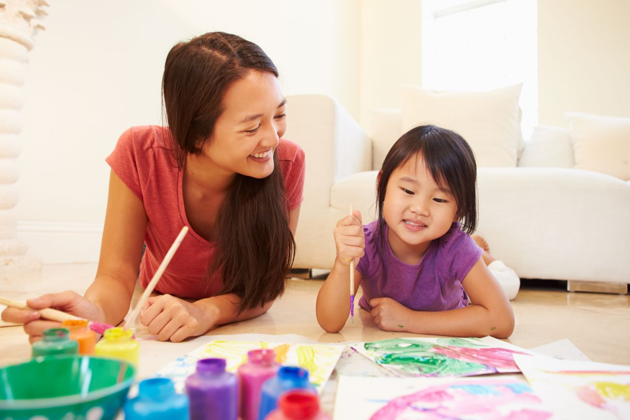 Mommy & Me Art Classes | King Art Studio